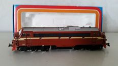 Märklin H0 - 3143 - Nohab diesel locomotive, type Di3 of the NSB