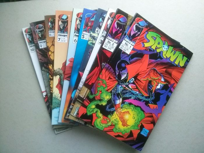 Spawn 64x - complete serie Juniorpress - (1996 / 2007)