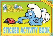 the Smurfs sticker activity book