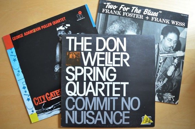 Lot of 3 tenor sax LP's - Frank Foster + Frank Wess - 'Two