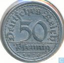 Coins - Germany - German Empire 50 pfennig 1920 (A)
