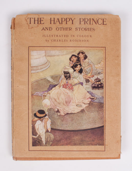 Geïllustreerd; Oscar Wilde - The Happy Prince and other stories - 1935