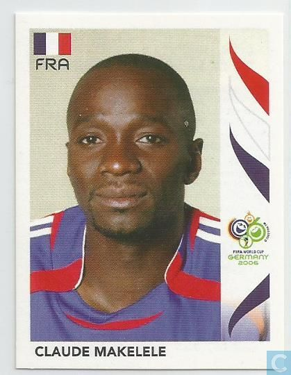 PANINI 464 CLAUDE MAKELELE FRANCE FIFA Coupe du Monde 2006 Germany