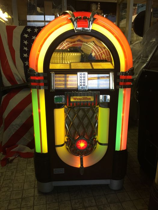 wurlitzer one more time jukebox 45 tours am ricain 1980 39 s catawiki. Black Bedroom Furniture Sets. Home Design Ideas