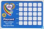 Playcard Pick 5 - The Health Lottery