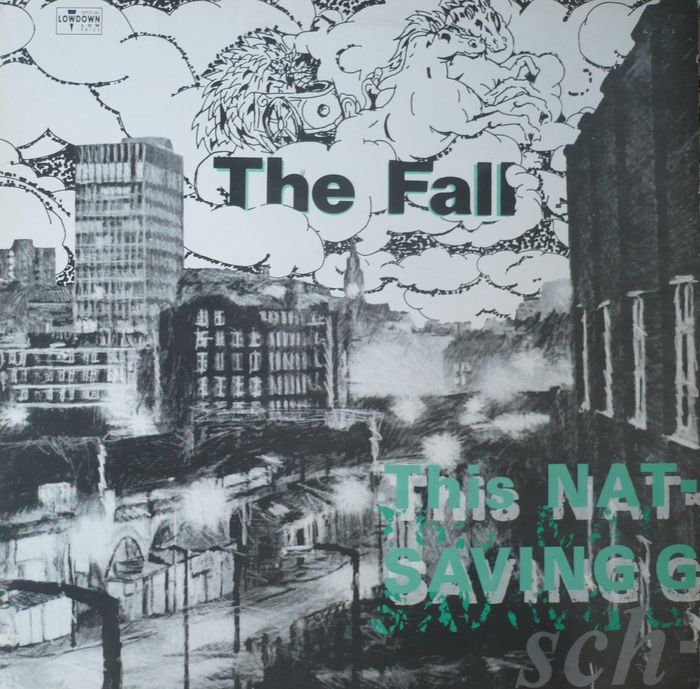 The Fall - LP This Nation's Saving Grace (Beggars Banquet BBL67) - 1985 - UK press