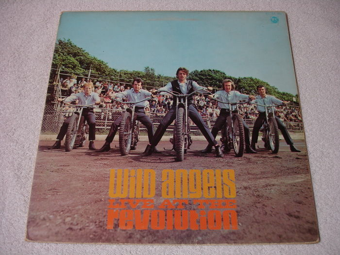 The Wild Angels Live At The Revolution Lp Uk 1st