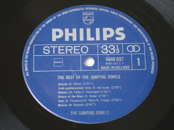 The Jumping Jewels The Best Of The Jumping Jewels Lp