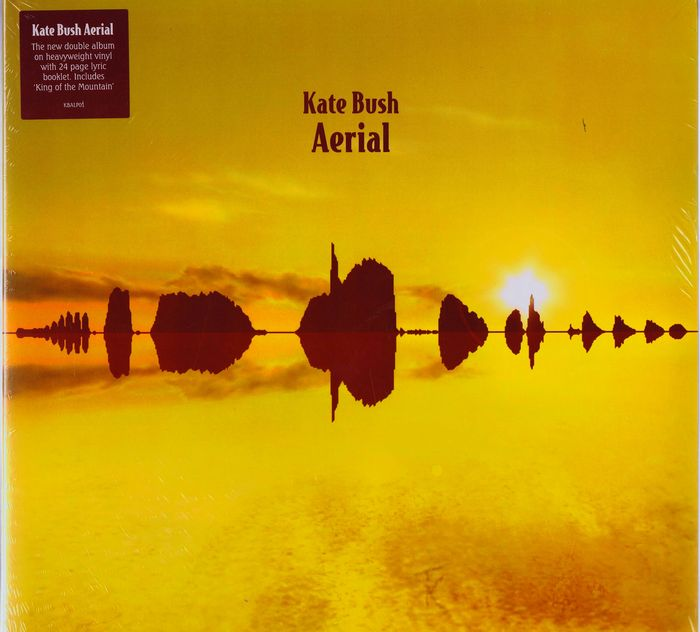 Kate Bush - 2LPs Aerial (EMI 43960-1) original 2005 limited edition gatefold 180 gram heavyweight vinyl double album