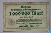 Altona 1 Miljoen Mark 1923