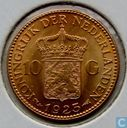 Netherlands 10 gulden 1925