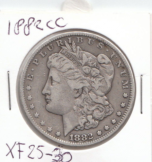 United States 1 Dollar 1882 1921 8 Coins Silver