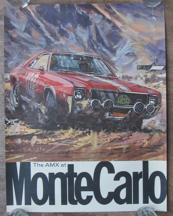 Auto Race: The Amx at Monte Carlo- 1968