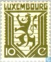 Postage Stamps - Luxembourg - State Coat of Arms