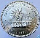 Cocos (Keeling) Islands 2 rupees 1977