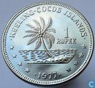 Cocos (Keeling) Islands 1 rupee 1977