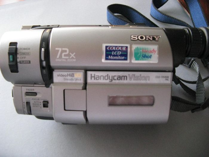 Sony Handycam Vision Video Hi8 XR steadyShot CCD-TRV69E PAL
