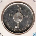 "Swaziland 1 Luhlanga 1968 ""Independence Commemorative"""