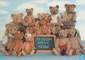 Teddy Bears School, made by Steiff, Germany about 1907