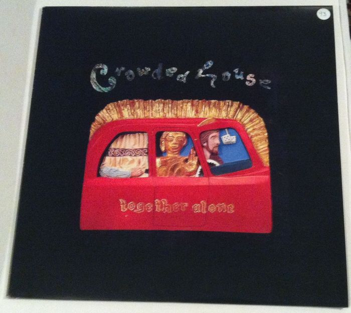 Crowded House: Together Alone - Original 1993 European/Greek pressing - LP - NM