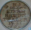 Prussia 1/12 Reichsthaler 1766 (E)