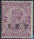 King George V with overprint I.E.F.