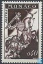 Postage Stamps - Monaco - Knight