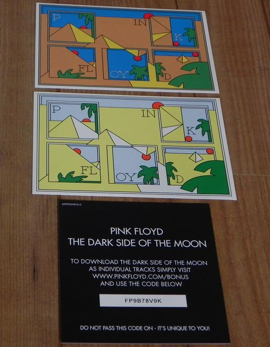 Pink Floyd- The Dark Side Of The Moon lp/ remastered 180