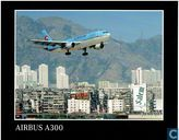 Korean Air - Airbus A-300 landing Hongkong