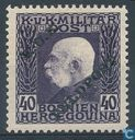 Franz Joseph I with imprint