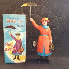 Disney Mary Poppins items (27 stuks in totaal) o.a van Marx, Viewmaster + Posters + Cardgame + LP's - Mary Poppins (1960/1966)
