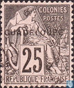 Type Dubois, with overprint