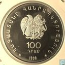 "Armenia 100 dram 1998 (PROOF) ""WWF - Armenian Gull"""