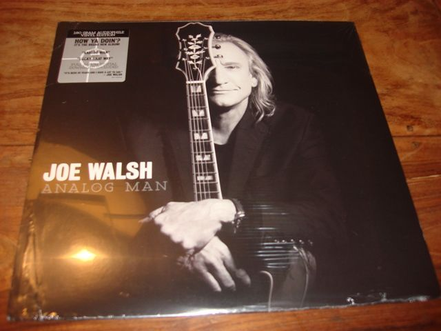 4 LP lot rock - Joe Walsh - Analog man 180 gr & Steve Miller band