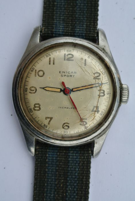 ENICAR SPORT -- men's watch -- 1950s