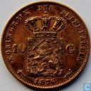 Coins - the Netherlands - Netherlands 10 gulden 1876