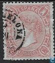 Postage Stamps - Spain [ESP] - Queen Isabella II