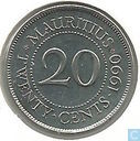 Maurice 20 cents 1990