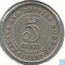 Malaya and British Borneo 5 cents 1958 (H)