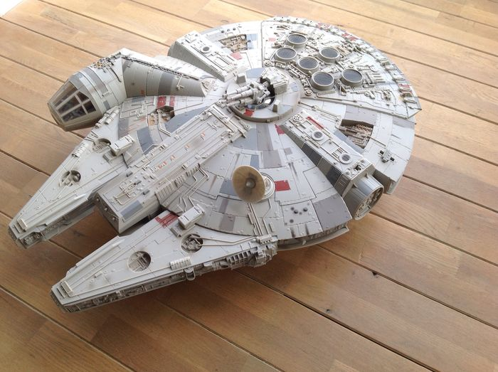 Trilogy - Hasbro, Legacy Collection - Lengte ± 78 cm - Millennium Falcon (2008)