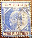 Postage Stamps - Cyprus [CYP] - King Edward VII