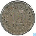 Malaya and British Borneo 10 cents 1960