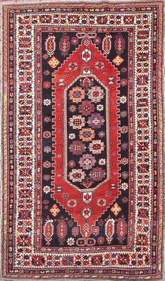 Antique SHIRVAN Caucasian rug - 90 years old.