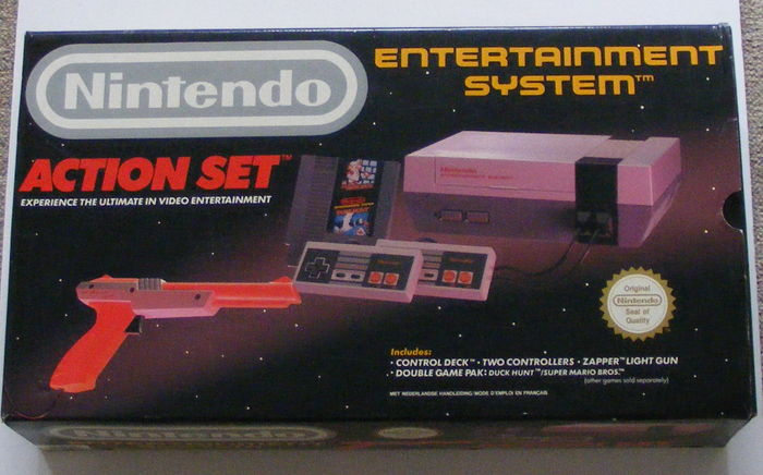 Image result for nes action set box