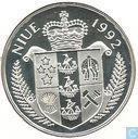 "Niue 5 dollars 1992 (PROOF) ""0lympic games"""