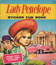 Lady Penelope sticker fun book