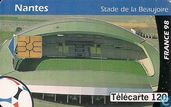 Collection les stades de France 98: Nantes Stade de la Beaujoire