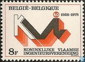 Postage Stamps - Belgium [BEL] - Royal Flemish Engineers Association