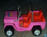 Buddy L Buggy Hauler Pink Jeep