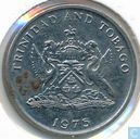 Trinidad and Tobago 25 cents 1975